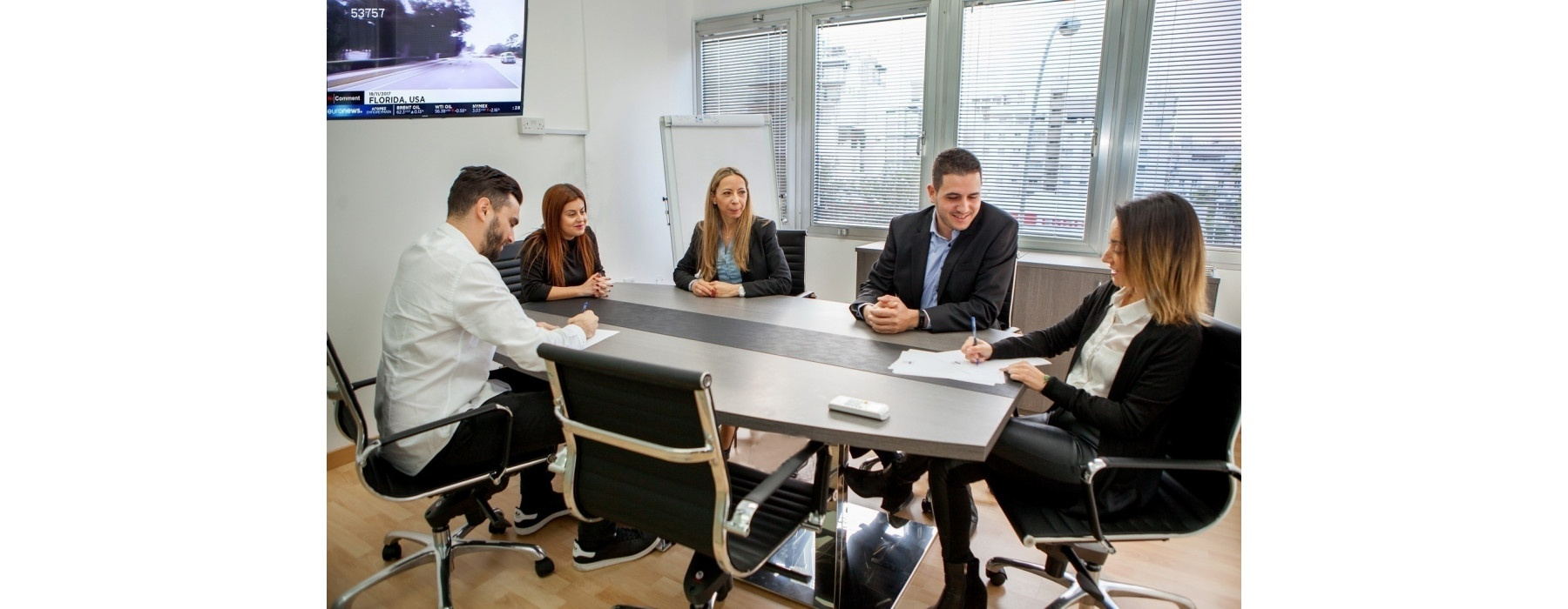 Nicosia - Business District  - Video conferencing