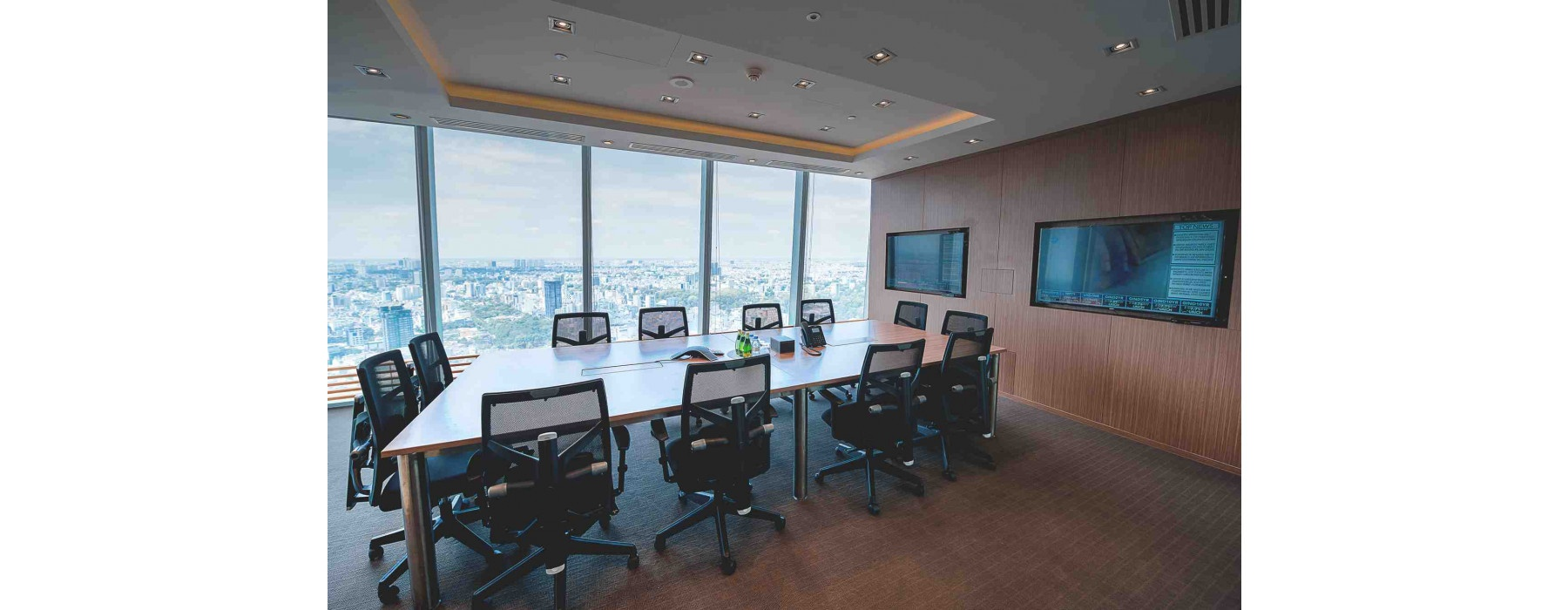 HCMC - Bitexco Financial Tower - Video conferencing