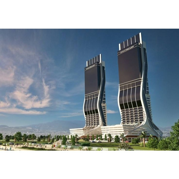 Izmir - Folkart Towers - Virtual office light